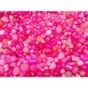 Bright Pink Onyx Pebbles