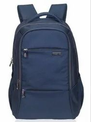 Polyester Blue Casual Backpacks