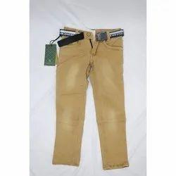 Regular Fit Casual Wear Kids Stretchable Denim Jeans