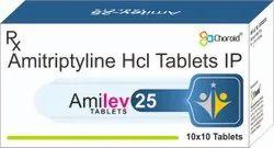 Amitriptyline HCL 25 Mg Tablets (Amilev-25)