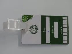Plastic Card Luggage Tag