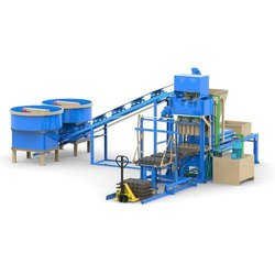 FBM 2500 Automatic Concrete Block Making Machine