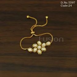 Antique Kundan Bracelet