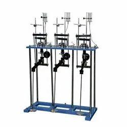 Three Gang Consolidation Apparatus