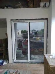 Plastone UPVC Sliding Window, Glass Thickness: 5mm