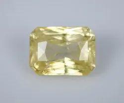 Natural Yellow Sapphire 9.21 Carat IGI Certified