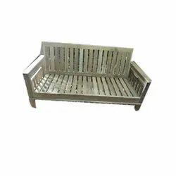 Arima Rectangular Teak Wood Sofa, For Home