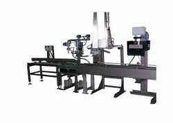 Semi Automatic Paint Pail Filling Lid Pressing Machine