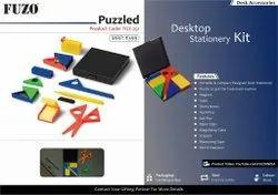 Fuzo Puzzled: Portable & Compact Designed Desk Stationery