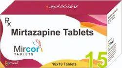 Mirtazapine 15 Mg Tablets (Mircor 15)