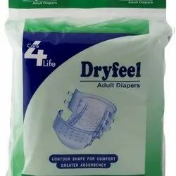 Dry Feel Adult Diapers Large