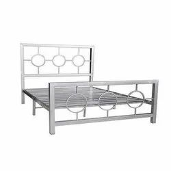Polished Stainless Steel Beds, Single, Size: 6x7 Feet