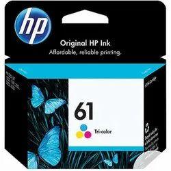 HP 61 Tri- Color Original Ink Cartridge