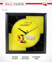 Promotional Wall Clock, Size: 10.5*10.5'
