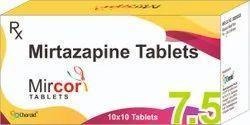 Mirtazapine 7.5 Mg Tablets (Mircor 7.5)