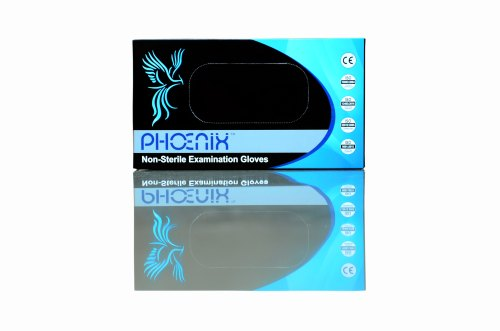 Phoenix Latex Examination Gloves (Powder-Free)