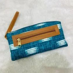 Stylish Ikkat Pouches