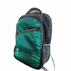 Polyester College Backpack Bag, Number Of Compartments: 4, Bag Capacity: 22 Kg