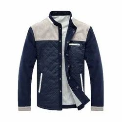 Full Sleeve Form And Cotton Mens Designer Jackets, Size: Large