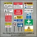 Construction Site Safety Sign Boards