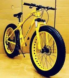 Prime Yellow Jaguar Fat Tyre Bicycle