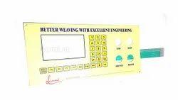 Looms Machine Membrane Keyboard (Textile)
