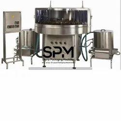 Semi Automatic Rotary Bottle Washer