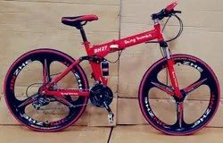 Being Human Red Foldable Cycle