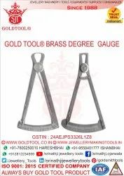 Brass Degree Gauge