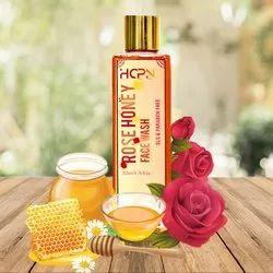 HCPN Pink Rose Honey Herbal Facewash, Age Group: Adults, Packaging Size: 200 Ml 6.67 Fl Oz