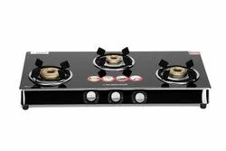 Stainless Steel Silver Sunshine Gas Stove Roma, For Kitchen, Model Name/Number: roma-3