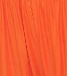 Orange Plain Rayon Fabric