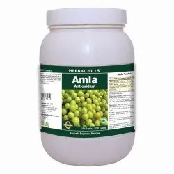 HerbalHills Amla 700 Tablets Value Pack - Healthy Digestion - Hair Care - Eye Care