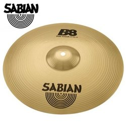 Brass Golden Sabian 14-inch Thin Crash B8 Cymbal