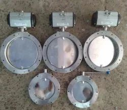 Actuated Pneumatic Butterfly Valve