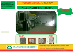 Ginning Waste Cotton Recovery Plant