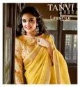 Lifestyle Tanvi Linen Printed Cotton Saree Catalog