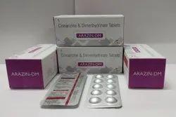 Cinnarizine 20mg Dimenhydrinate 40mg Tablet