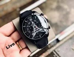 Round Luxury(Premium) TAG HEUER WATCH FOR MEN, For Daily