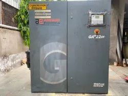 Ae Air Compressor On Rent, Compressor Model: 3-200 Hp, Flow Capacity: 0-1000