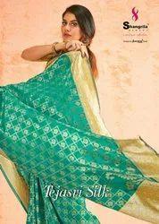 Shangrila Creation Tejasvi Soft Weaving Silk Saree Catalog