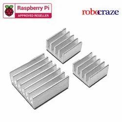 Robocraze 3 In 1 Heat Sinks For Raspberry Pi