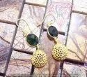 Green Onyx Jewelry Earrings