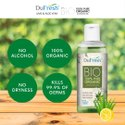 Dufresh Bio (100ml) - 100 % Pure Organic Sanitizing Gel