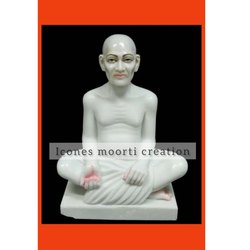 Marble Gajanand maharaj Statue