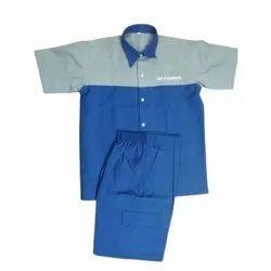 Male Poly Cotton Workshop Technician Uniform, Size: S-XXL