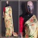 Fancy Japani Satin Indian Wear Saree