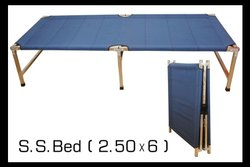 Metal Brown Hotel Folding Bed, Size: 2.5*6