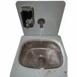 Wall Mounted FRP Wash Basin, For Bathroom