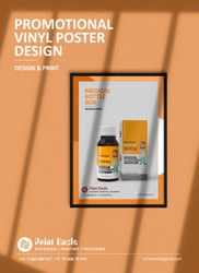Fast Premium PROMOTIONAL VINYL POSTER DESIGN
